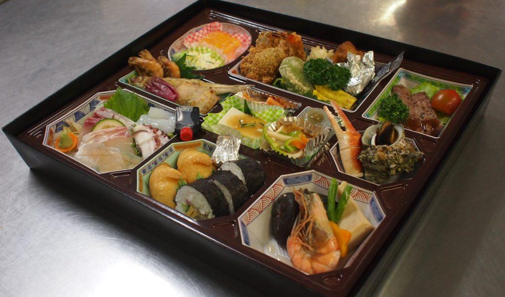 汐湯 井上旅館お弁当